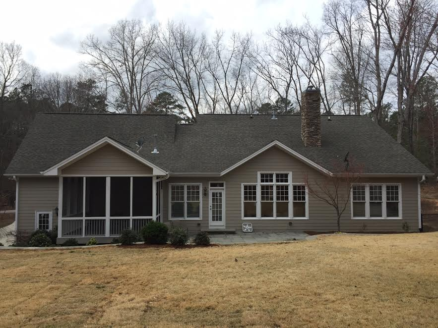a home after our Raleigh power washing services